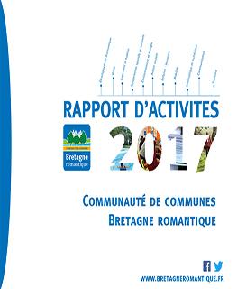 Rapport d'activités communauté de communes bretagne romantique