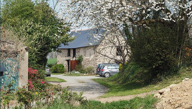 Maison rénovée en Bretagne romantique