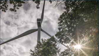 energie renouvelable eolienne de Tremeheuc Bretagne romantique
