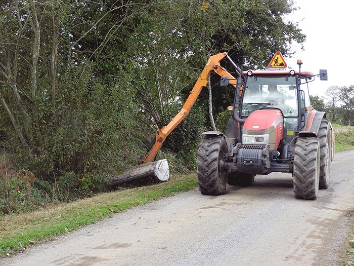 Tracteur de la communauté de c