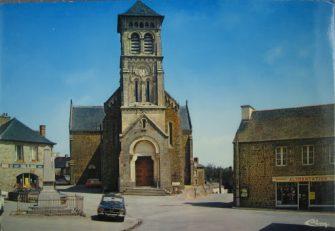 église de dingé en bretagne romantique