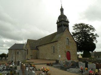 église La Chapelle-aux-Filtzméens en bretagne romantique