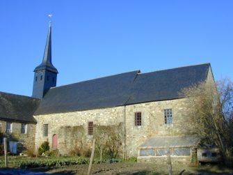 église St-Léger-des-Prés en bretagne romantique