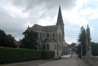Eglise St-Martin St-Samson à Bonnemain en bretagne romantique