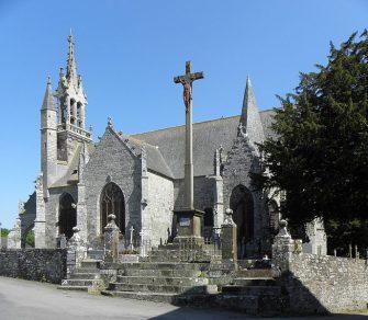 église saint ouen des iffs en bretagne romantique