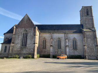 église St Thual en bretagne romantique