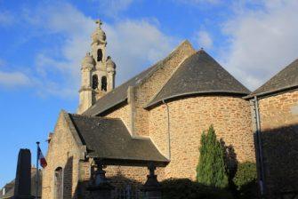église Tressé en bretagne romantique