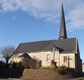 église québriac en bretagne romantique