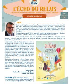 Couverture du journal du relais parents assistants maternels de la communauté de communes Bretagne romantique
