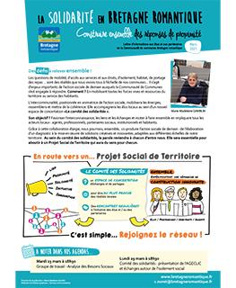 couverture de la lettre info sociale de la Bretagne romantique - mars 2021