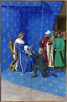 bertrand Du Guesclin par Fouquet