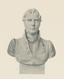 Buste de Louis François Marie de Lorgeril