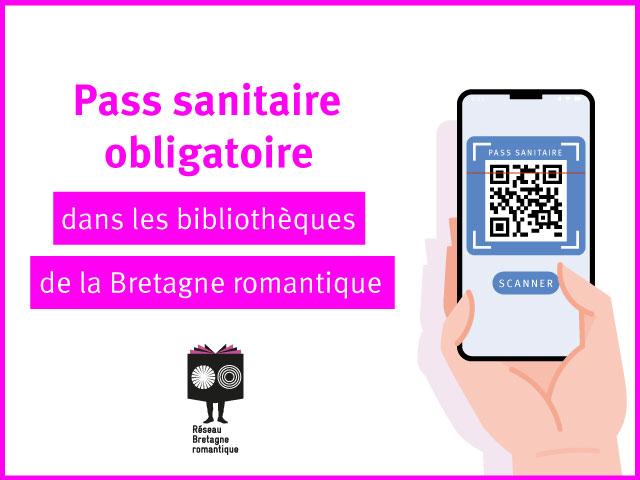 pass-sanitaire-bibliothèque-bretagne romantique