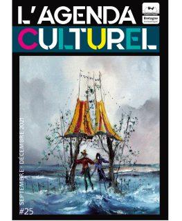 Couverture agenda culturel Bretagne romantique septembre 2021