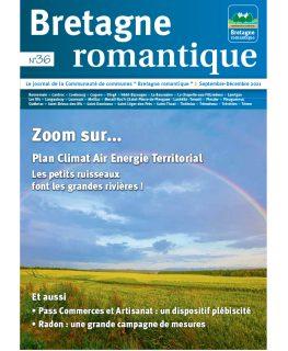 Couverture du magazine communautaire bretagne romantique septembre 2021