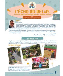 Echo du Relais Parents assistants maternels Bretagne romantique couverture